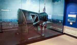 Space Race exhibit - Freedom 7
