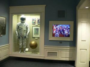 Space Race exhibit - astronaut spacesuit