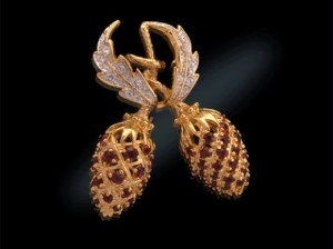 Berry Pin -A Mother's Day Gift from JFK for the Birth of JFK Jr.
