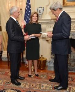 John Kerry swears in Caroline Kennedy as U.S. Ambassador to Japa