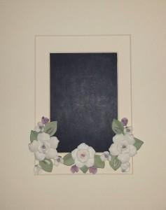 Framed Wedding Invitation 2a