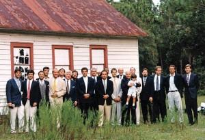 JFK wedding - the men