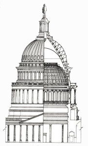 Capitol Dome drawing