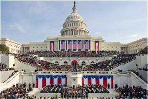 Capitol - inaguration day