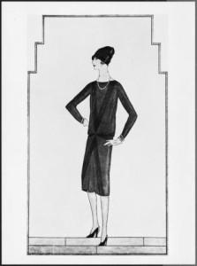 Chanel Little Black Dress 1926