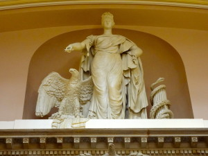 National Statuary Hall - Liberty the eagle and the serpent