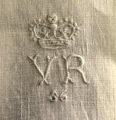 Queen Victoria royal monogram on knickers 1
