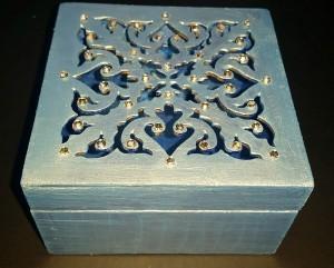 laser cut square box