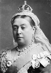 1882 Queen Victoria photograph by Alexander Bassano