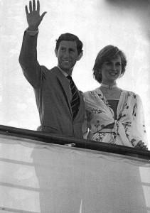Britannia Royal Yacht - Charles and Diana honeymoon 1