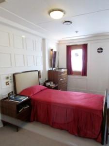 Britannia Royal Yacht - Duke bedroom