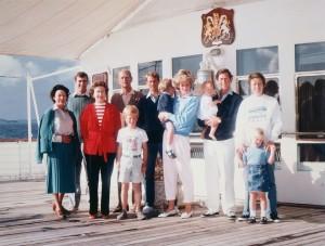 Britannia Royal Yacht - Royal family