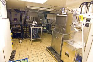 Britannia Royal Yacht - kitchen