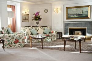 Britannia Royal Yacht - living room