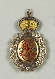 King Edward VII Royal Family Order - reverse side