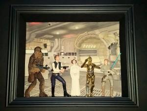 Star Wars - finished Millennium Falcon