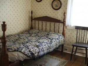 Bedroom in Edison's Boyhood Home
