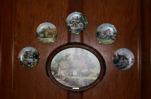 Plates - family room