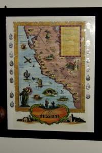 California Mission print