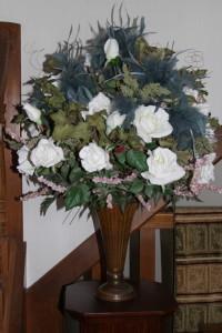 Entry floral arrangement - spring