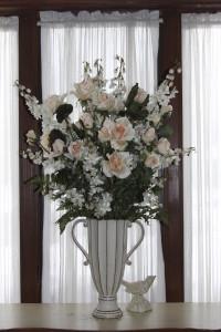 Library floral arrangement