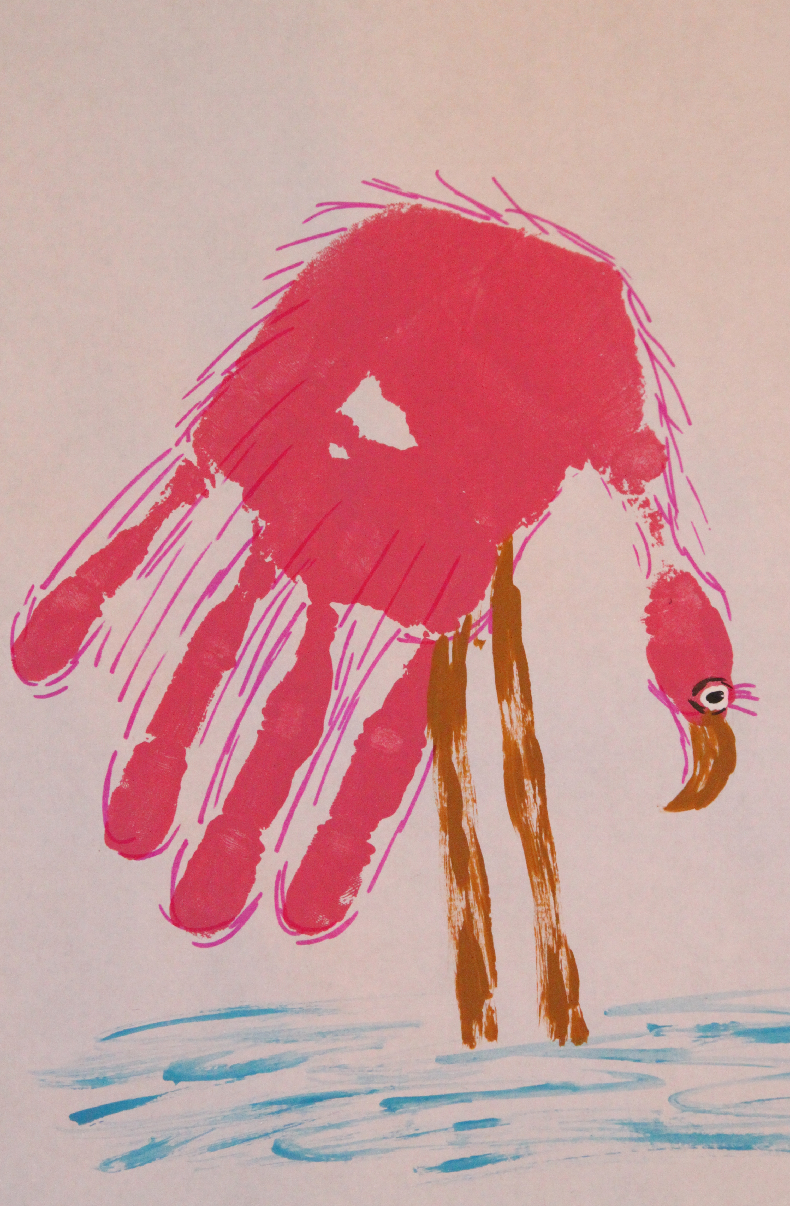 Craft With Children S Handprints The Enchanted Manor