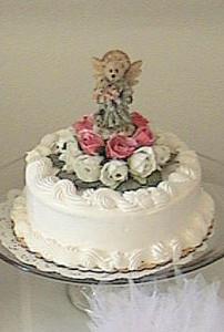 2000 Cassie's Baptism cake