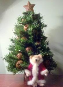 2011 Christmas Boyds Bear Santa