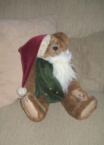 2012 Christmas Boyds Bear Santa