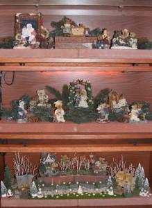 2012 Christmas Boyds Bear bookcase