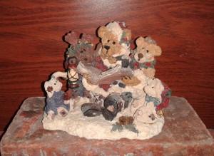 2012 Christmas Boyds figurine