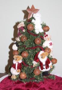 2012 Christmas bear tree