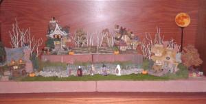 2012 Halloween Boyds Bear Village