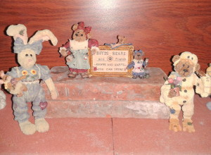 2013 Easter Boyds figurines
