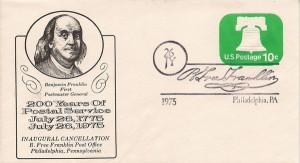 B. Free Franklin postmark