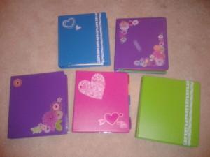 Decorated binders 2