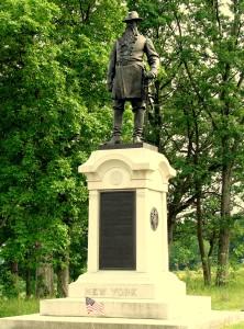 Gettysburg - New York memorial
