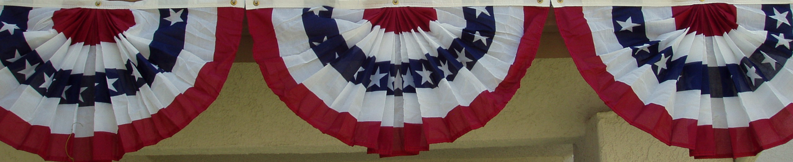 Decor patriotic home decorations the enchanted manor - Flag decorations for home ...