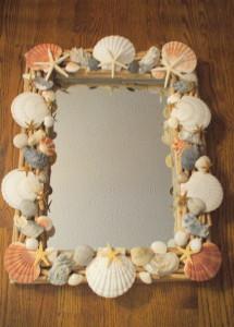 Seashell Mirror 4