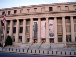 Bureau of Engraving Printing in Washington, D.C.