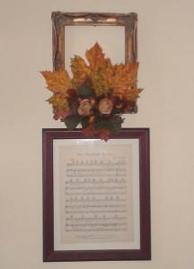 Framed floral final