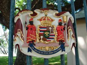 Hawaiian coat of arms 1