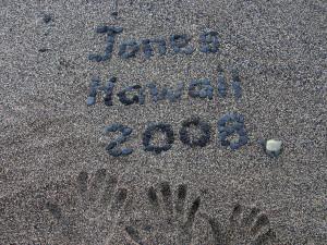 Jones Hawaii 2008