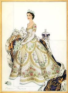 Queen Elizabeth II coronation dress