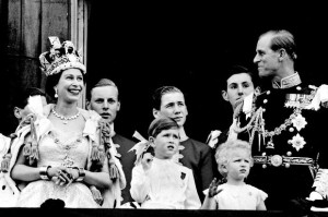Coronation - Royal family on balcony