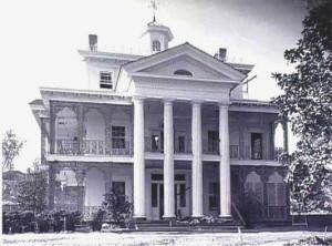 Haunted Mansion construction 1