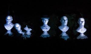 Haunted Mansion - singing busts