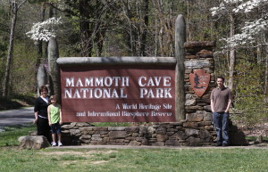 Mammoth Cave sign 2