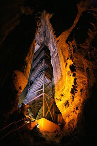 Mammoth Cave staircase