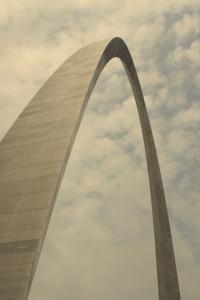 St Louis Gateway Arch exterior